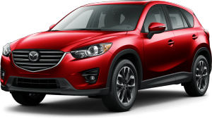 Červené SUV